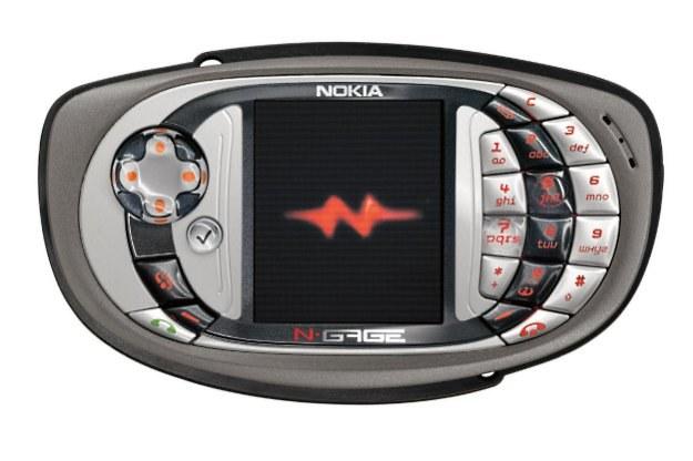 Nokia N-Gage nie stała się hitem /materiały prasowe
