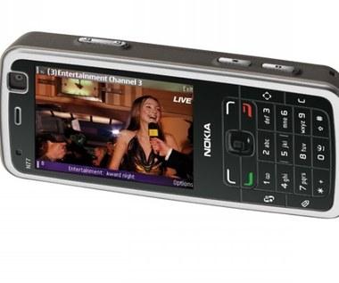 Nokia N77 - mobilny telewizor