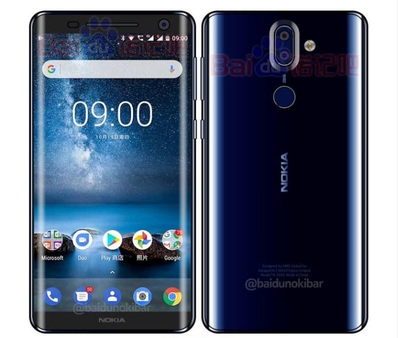 Nokię 9 będzie cechował design podobny do Samsunga Galaxy S7 Edge /Baidu /Internet