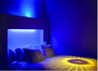 Nordic Light Hotel, Sztokholm - pokój Blue Moodbed. Fot. Christopher Robin /Magazyn Sztuka.pl