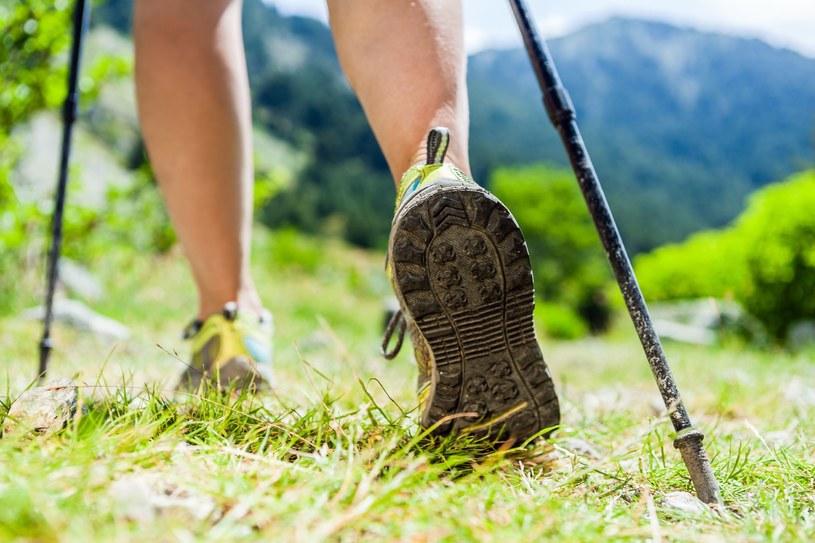 Nordic Walking to propozycja dla każdego, bez względu na kondycję i wiek /123RF/PICSEL