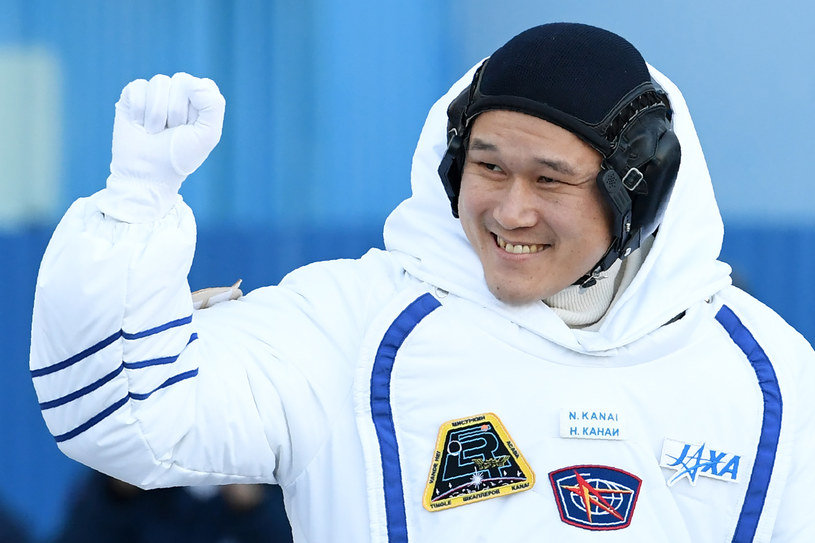 Norishige Kanai urósł poza Ziemią 2 cm. NASA uspokaja, że to normalne /AFP