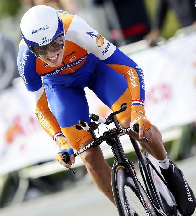 Norweg Edvald Boasson Hagen (Sky) został liderem Eneco Tour /AFP