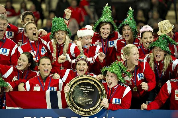Norweżki - mistrzynie Europy w piłce ręcznej /AFP