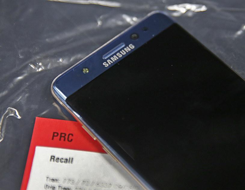 Note 7 został wycofany ze sprzedaży we wrześniu /AFP