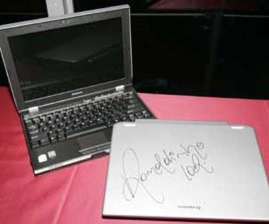 Notebook z podpisem Ronaldinho