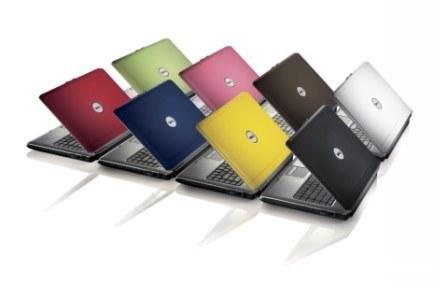 Notebooki o różnych kolorach mają zapewnić rynkowy sukces serii Inspiron /materiały prasowe