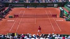 Novak Djoković sensacyjnie przegrał w Monte Carlo. Wideo