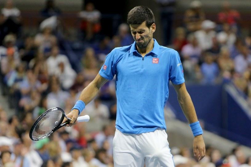 Novak Djoković walczył z bólem. /AFP