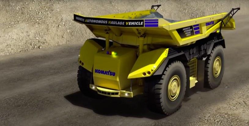 Nowa autonomiczna ciężarówka Komatsu /materiały prasowe