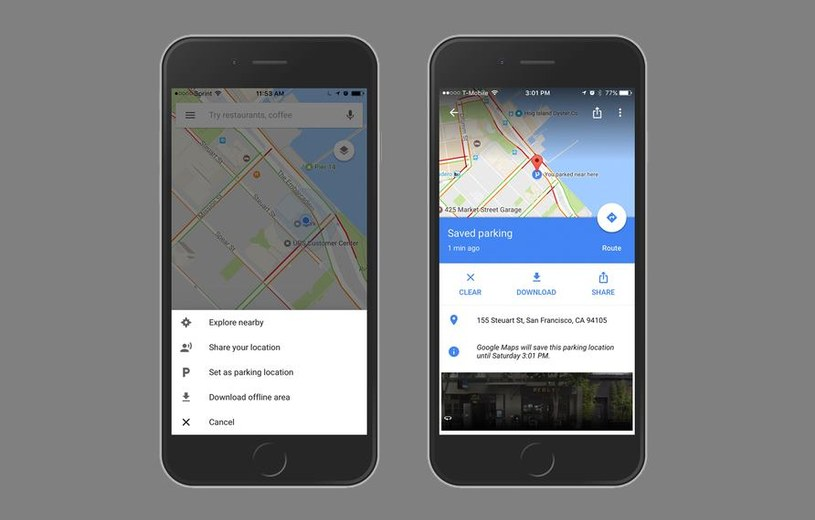 Nowa funkcja Map Google będzie bardzo przydatna dla kierowców /materiały prasowe