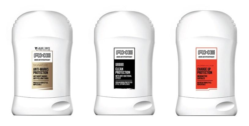 Nowa gama antyperspirantów AXE /materiały prasowe