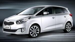 Nowa Kia Carens - pierwsze zdjęcia koreańskiego minivana