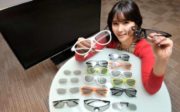 Nowa kolekcja okularów 3D od LG /materiały prasowe