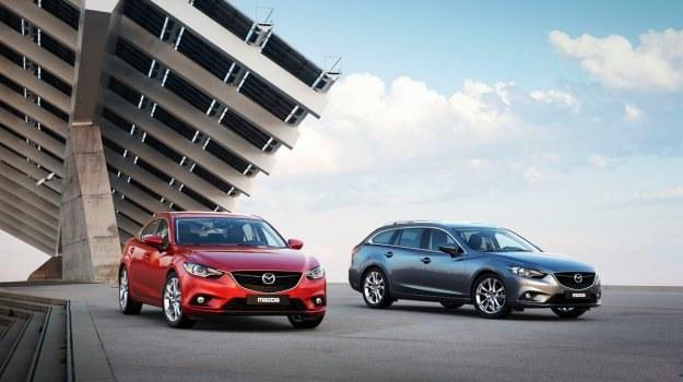 Nowa Mazda 6 występuje w dwóch wersjach nadwoziowych: sedan i kombi. /Mazda