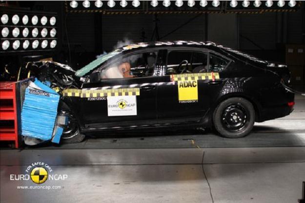 Nowa Octavia to bezpieczny samochód /