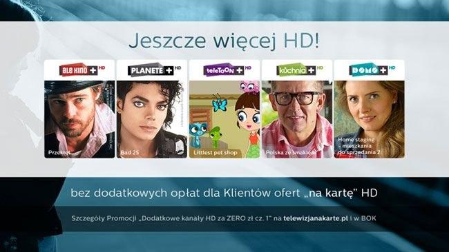 """Nowa promocja """"Dodatkowe kanały HD za ZERO - cz. 1"""" dla klientów ofert prepaid /materiały prasowe"""