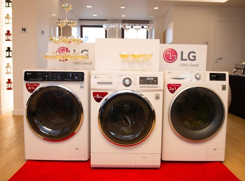 Nowa rodzina pralek LG /materiały prasowe
