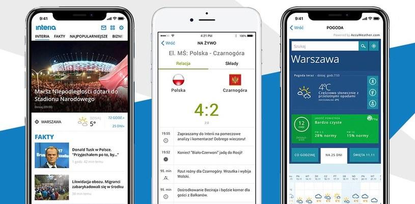 Nowa wersja aplikacji Interia - do pobrania w App Store /INTERIA.PL