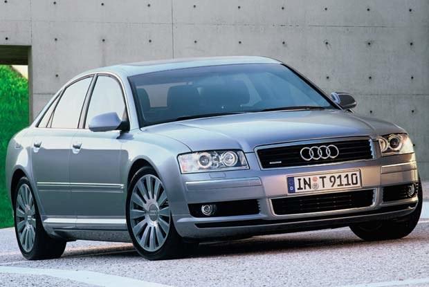 Nowe A8 - mocny atut Audi / kliknij /INTERIA.PL