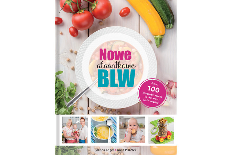 """""""Nowe AlaAntkowe BLW"""" to świetny sposób na kuchenne sukcesy, na których skorzysta cała rodzina /INTERIA/materiały prasowe"""