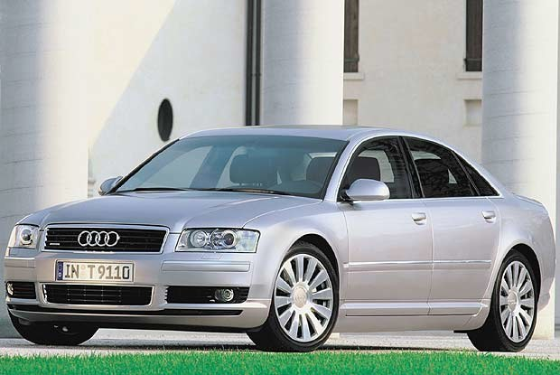 Nowe Audi A8 (kliknij) /INTERIA.PL