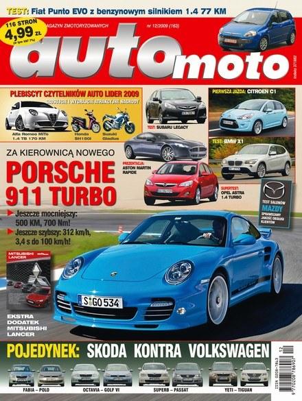 """Nowe """"Auto Moto"""" już w kioskach /Auto Moto"""