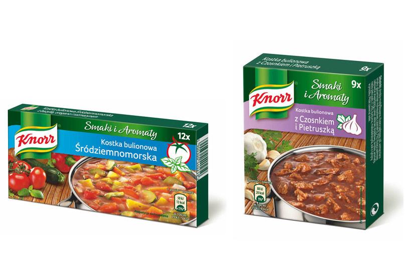Nowe buliony marki Knorr /materiały prasowe