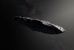 Nowe informacje o planetoidzie  1I/2017 U1 Oumuamua