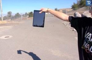 Nowe iPady w testach wytrzymałości  na upadki