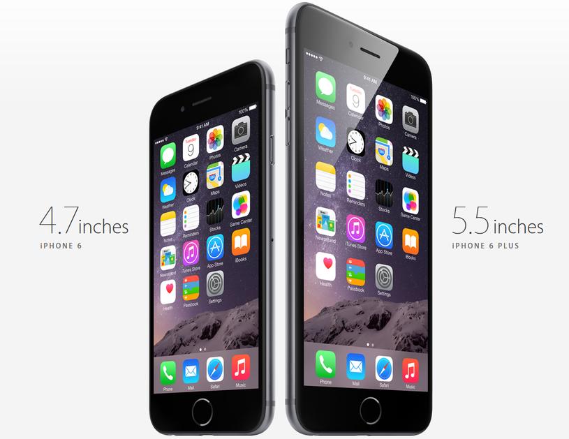 Nowe iPhone'y - tym razem w dwóch rozmiarach /materiały prasowe