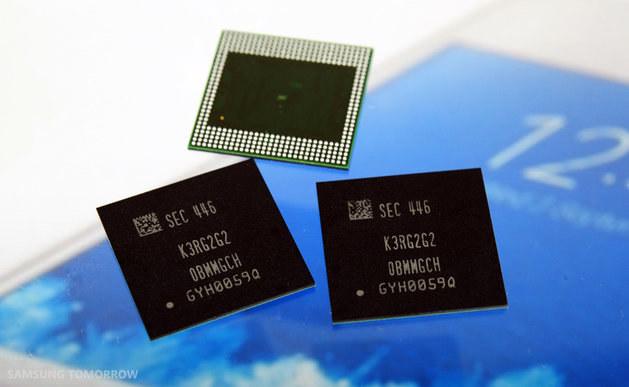 Nowe kości pamięci Samsunga do smartfonów. /materiały prasowe
