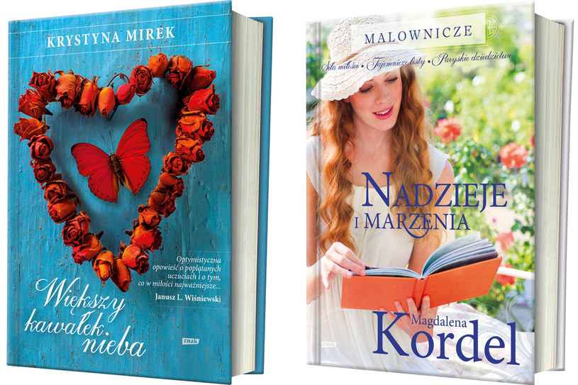 Nowe książki Krystyny Mirek i Magdaleny Kordel /materiały prasowe