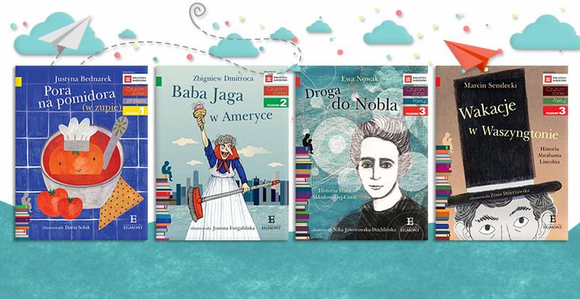 """Nowe książki z serii """"Czytam sobie"""" /materiały prasowe"""