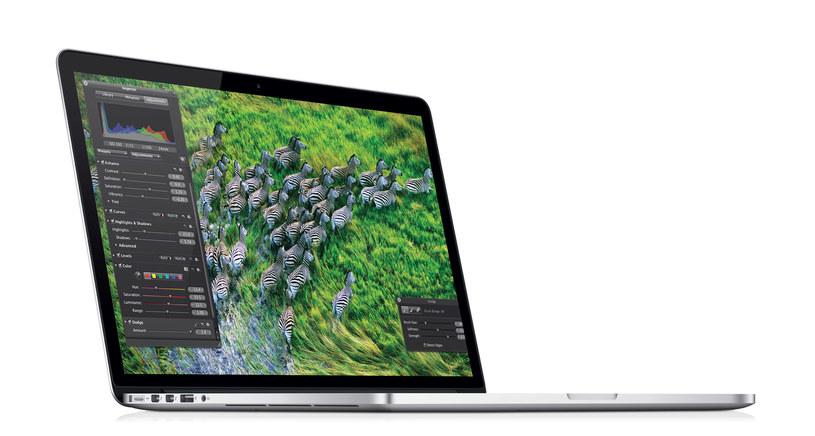 Nowe MacBooki Pro są nieznacznie szybsze i tańsze /materiały prasowe
