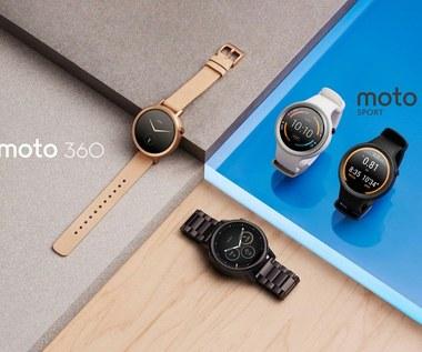 Nowe modele inteligentnych zegarków Moto 360