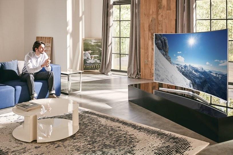 Nowe modele telewizorów samsung SUHD trafiły do Polski /materiały prasowe