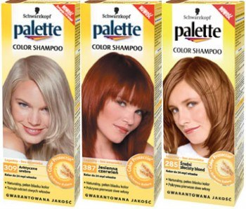 Nowe Palette Color Shampoo /materiały prasowe