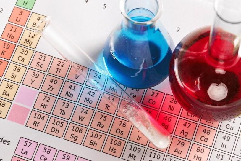 Nowe pierwiastki chemiczne otrzymały swoje nazwy /123RF/PICSEL
