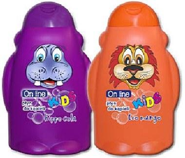 Nowe płyny do kąpieli z serii On line Kids /materiały prasowe