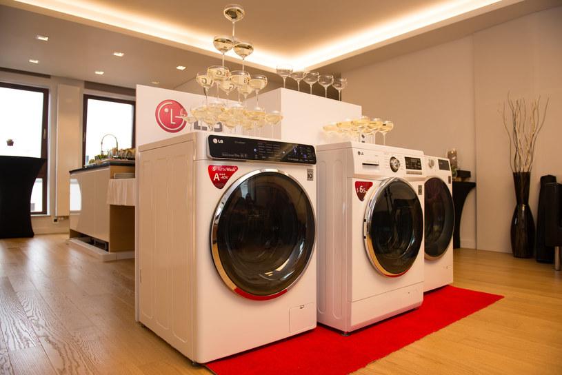 Nowe pralki LG /materiały prasowe