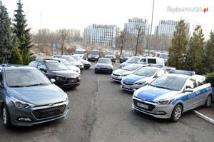 Nowe radiowozy dla śląskiej policji. Również BMW