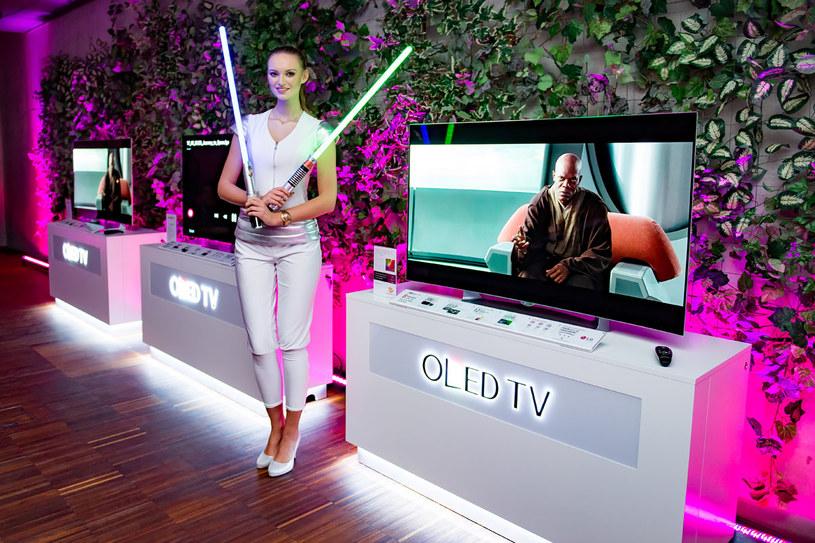 Nowe telewizory OLED LG trafią do sprzedaży ze specjalną promocją - filmy z serii Star Wars w promocji z telewizorem /materiały prasowe