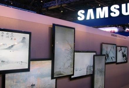 Nowe, wąskie telewizory LED Samsunga. Robią wrażenie na ścianie. /INTERIA.PL