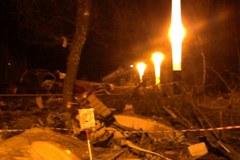 Nowe zdjęcia miejsca katastrofy 10 kwietnia