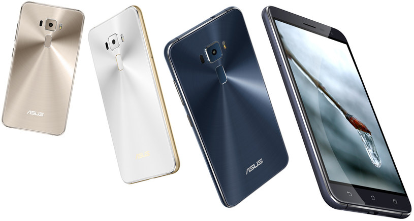 Nowe ZenFone'y Asusa /materiały prasowe