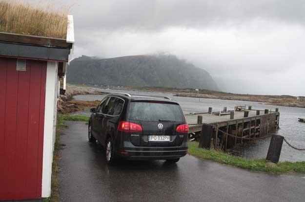 Nowego sharana sprawdzaliśmy w Norwegii... /INTERIA.PL
