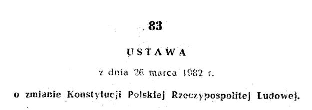 Nowelizacja peerelowskiej konstytucji /INTERIA.PL