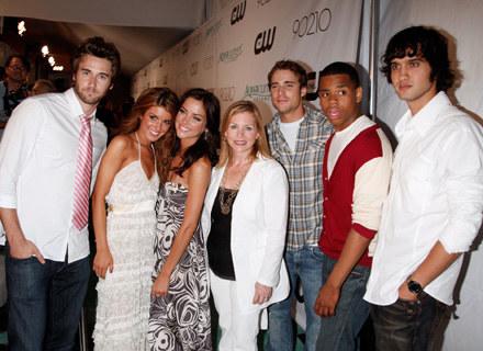 "Nowi aktorzy w nowym ""Beverly Hills 90210"" /Getty Images/Flash Press Media"