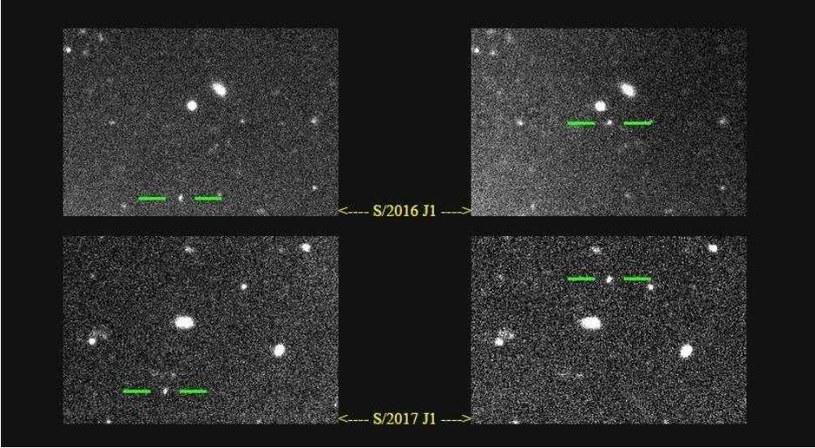 Nowo odkryte księżyce Jowisza w pełni chwały /NASA